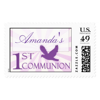 !st Communion Stamp
