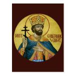 St. Constantina la gran tarjeta del rezo Postal