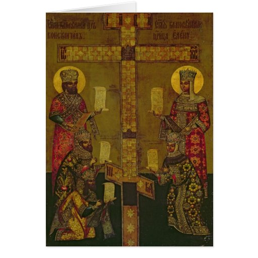 St. Constantine and St. Helena Cards