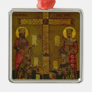 St. Constantine and St. Helena Metal Ornament