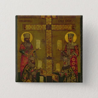 St. Constantine and St. Helena Pinback Button