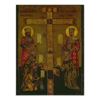 St. Constantine and St. Helena Poster