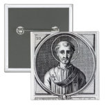 St. Cornelius 2 Inch Square Button