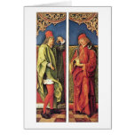 St.Cosmas And St.Damian By Kulmbach Hans Suss Of Card