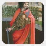 St. Crispin, siglo XVI Pegatina Cuadrada
