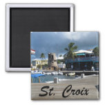 St. Croix 2 Inch Square Magnet