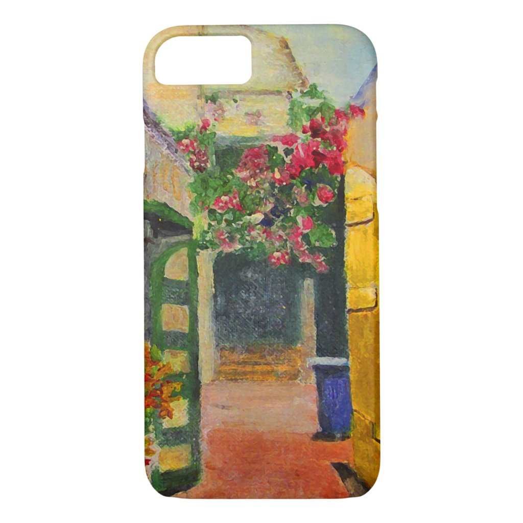 St. Croix Alley Caribbean Travel iPhone 8/7 Case