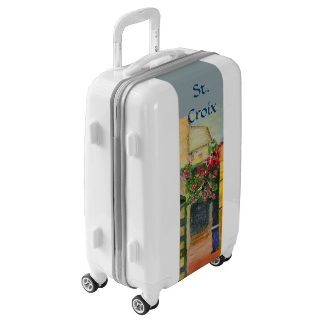 St. Croix Alley Caribbean Travel Luggage