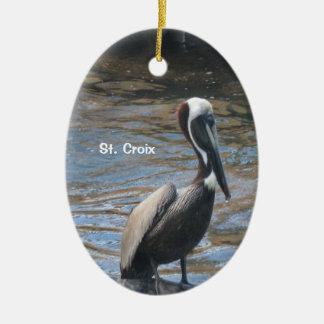 St. Croix Ceramic Ornament