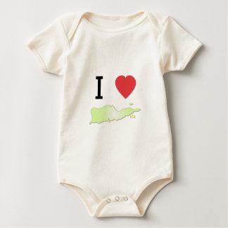 St Croix del corazón I Mameluco De Bebé