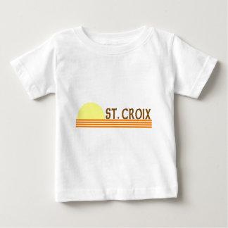 St. Croix, Islas Vírgenes de los E.E.U.U. Playera Para Bebé