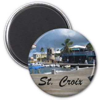 St. Croix 2 Inch Round Magnet