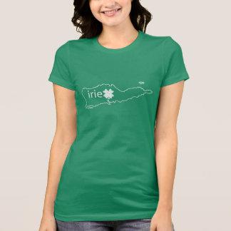 St Croix St Patrick's Day T | Irie in Irish T-Shirt