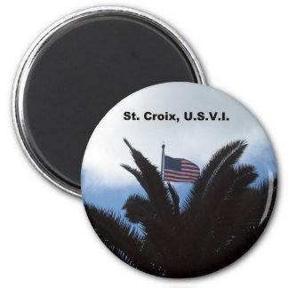 St. Croix, U.S.V.I. Magnet