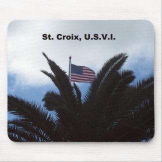 St. Croix, U.S.V.I. Mouse Pad