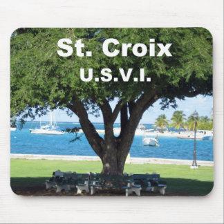 St. Croix  U.S.V.I. Mouse Pad