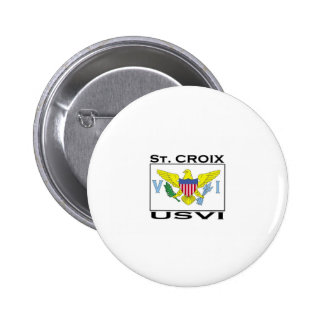 St. Croix, US Virgin Islands Button