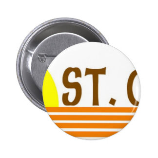 St. Croix, US Virgin Islands Pinback Button