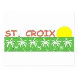 St. Croix, US Virgin Islands Post Card