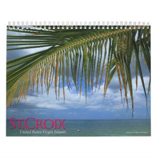 St Croix USVI 2011 Calendario De Pared