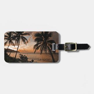 St. Croix VI Sunset Luggage Tag