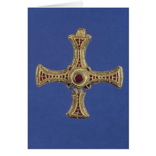 St. Cuthbert's Cross Card