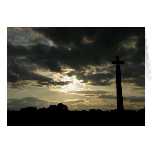 St. Cuthbert's Cross Greeting Card