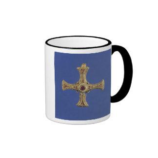 St. Cuthbert's Cross Coffee Mugs
