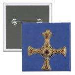 St. Cuthbert's Cross Pinback Button