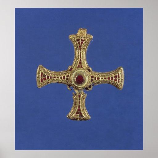 St. Cuthbert's Cross Poster