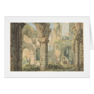 St. Cuthbert's Holy Island, 1797 (w/c over pencil Card