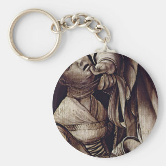 St. Cyracus Heals The Daughter Of Diocletian By Gr Key Chains