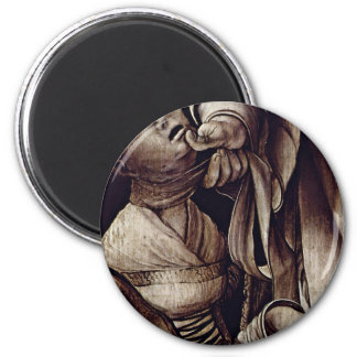 St. Cyracus Heals The Daughter Of Diocletian By Gr Refrigerator Magnets