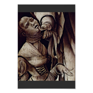St. Cyracus Heals The Daughter Of Diocletian By Gr Poster