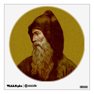 """St. Cyril the Monk (M 002) 12""""x12"""" Wall Decal"""