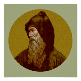 """St. Cyril the Monk (M 002) 20""""x20"""" Poster #1"""