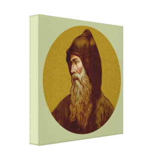 St. Cyril the Monk (M 002) Canvas Print