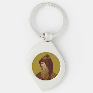 St. Cyril the Monk (M 002) Keychain