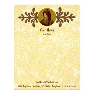St. Cyril the Monk (M 002) Letterhead Sheet A