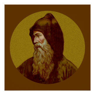 St. Cyril the Monk (M 002) Poster #2