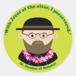 St. Damien of Molokai Sticker
