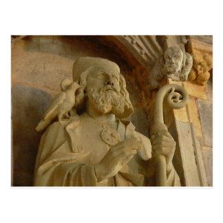St David Postcard
