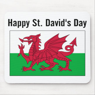 St. David's Day 2 Mouse Pad