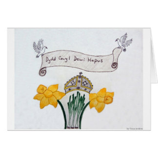 St David's Day Card 1st Pl. WSCO