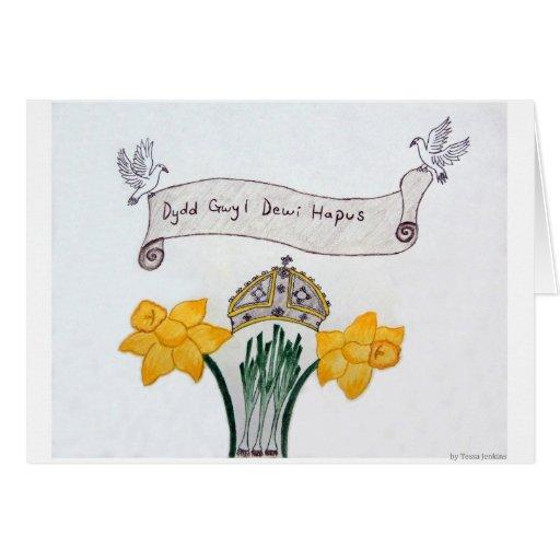 St David's Day Card 1st Pl. WSCO