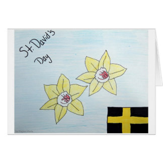 St David's Day Card 2nd Pl. WSCO