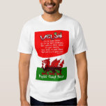 St. David's Day Card with poetry by Bryan Harris Shirt