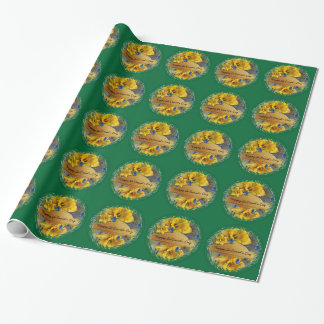 St.David's Day Daffodil Design Wrapping Paper