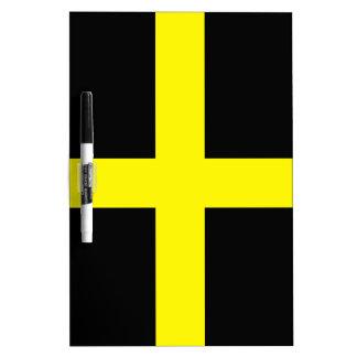 St. David's Day Flag Dry Erase Boards