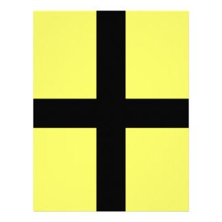 St. David's Day - Flag Letterhead Design